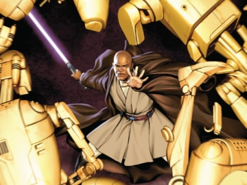 Jedi Of The Republic Mace Windu 001 Cover
