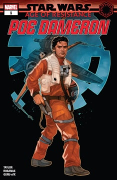 Star Wars Age Of Resistance Poe Dameron 001 Cover