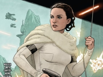 Star Wars Age Of The Republic Padme Amidala 001 Cover