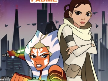 Star Wars Forces Of Destiny Ahsoka And Padme Cover