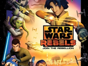 Star Wars: Rebels Season 1 Poster