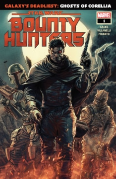 Bounty Hunters 001 Cover