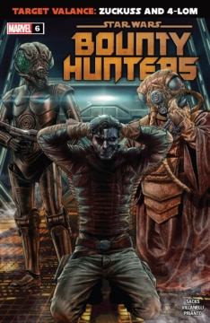 Bounty Hunters 006 Cover