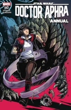 Doctor Aphra Annual 002 Cover