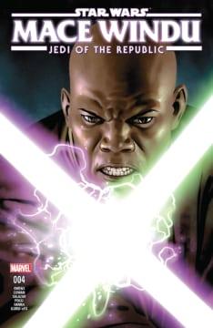 Jedi Of The Republic Mace Windu 004 Cover