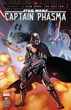 Journey To Star Wars The Last Jedi Captain Phasma 001 Cover