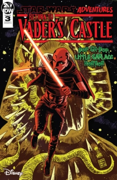 Return To Vaders Castle 003 Cover
