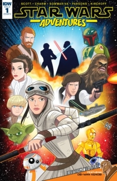 Star Wars Adventures 001 Cover