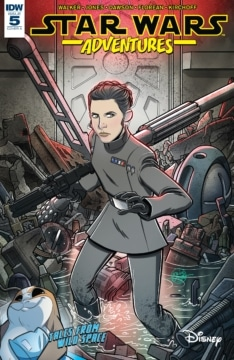 Star Wars Adventures 005 Cover