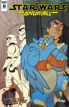 Star Wars Adventures 008 Cover