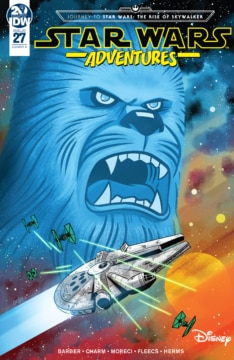 Star Wars Adventures 027 Cover