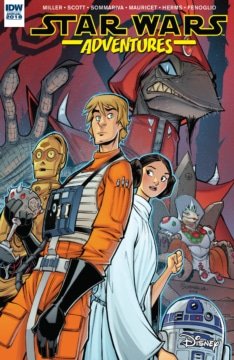 Star Wars Adventures Annual 2018 Cover