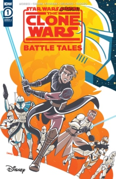 Star Wars Adventures Clone Wars 001 Cover
