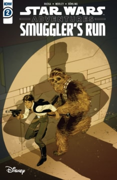 Star Wars Adventures Smugglers Run 002 Cover