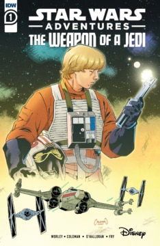 Star Wars Adventures Weapon Of Jedi 001 Cover