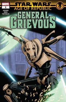 Star Wars Age Of The Republic General Grievous 001 Cover