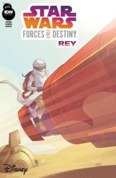 Star Wars Forces Of Destiny Rey Cover