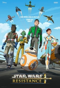 Star Wars: Resistance Season 1 Poster