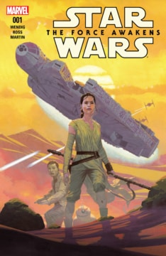 Star Wars The Force Awakens Adaptation 001 Cover