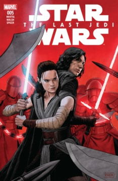 Star Wars The Last Jedi Adaptation 005 Cover
