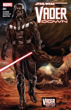 Star Wars Vader Down 001 Cover