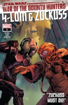 War Of The Bounty Hunters 4 Lom Zuckuss Cover