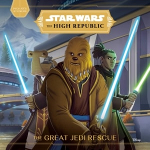 Star Wars High Republic Great Jedi Rescue Cover